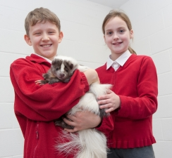 Youngsters Sneak Preview of College's Wildlife and Conservation Centre